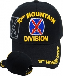 View Buying Options For The 10th Mountain Division Emblem Shadow Mens Cap
