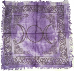 View Buying Options For The Triple Moon Altar Cloth