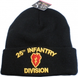 View Buying Options For The 25th Infantry Division Cuff Beanie Cap