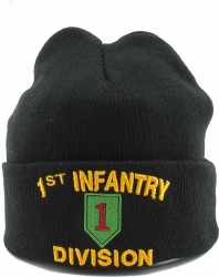 View Buying Options For The 1st Infantry Division Mens Cuff Beanie Cap