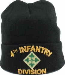 View Buying Options For The 4th Infantry Division Mens Cuff Beanie Cap
