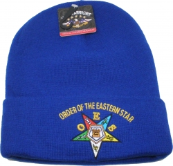 View Buying Options For The Eastern Star Cuff Beanie Cap