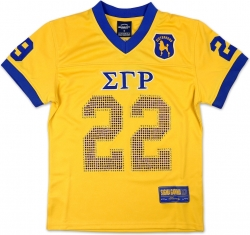 View Buying Options For The Sigma Gamma Rho Divine 9 S9 Ladies Football Jersey