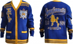View Buying Options For The Sigma Gamma Rho Divine 9 S6 Ladies Sweater