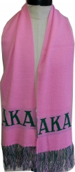 View Buying Options For The Alpha Kappa Alpha Ladies Knit Scarf