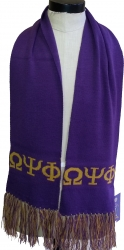 View Buying Options For The Omega Psi Phi Mens Knit Scarf