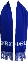 View Buying Options For The Phi Beta Sigma Knit Scarf