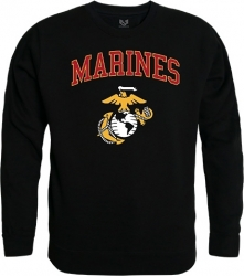 View Buying Options For The RapDom Marines Crew Neck Mens Sweatshirt