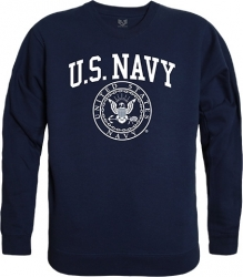 View Buying Options For The RapDom Navy Mens Crewneck Sweatshirt