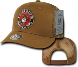 View Buying Options For The RapDom Marines Back To The Basics Mesh Mens Cap