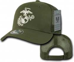 View Buying Options For The RapDom Marines Anchor Back To The Basics Mesh Mens Cap