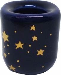 View Buying Options For The Gold Stars Ceramic Chime Candle Holder