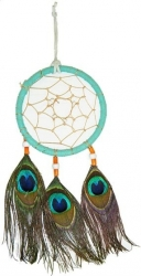 View Buying Options For The Dream Catcher with Peacock Feathers