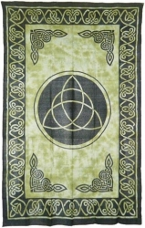 View Buying Options For The Triquetra (Charmed) Bedspread Cloth Tapestry