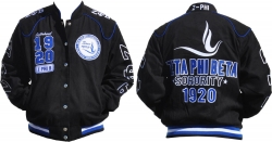 View Buying Options For The Zeta Phi Beta Divine 9 S8 Ladies Twill Jacket