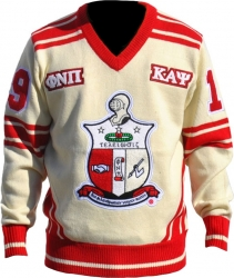 View Buying Options For The Kappa Alpha Psi Divine 9 Mens V-Neck Sweater