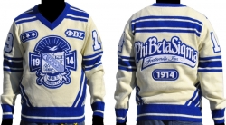 View Buying Options For The Phi Beta Sigma Divine 9 Mens V-Neck Sweater