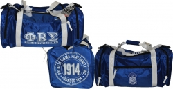 View Buying Options For The Phi Beta Sigma Divine 9 Duffle Bag