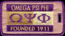 View Buying Options For The Omega Psi Phi Founded 1911 Luggage Tag