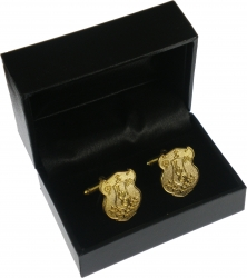 View Buying Options For The Iota Phi Theta Shield Sandblasted Cuff Links with Box