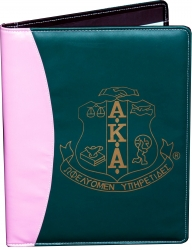 View Buying Options For The Alpha Kappa Alpha Crest Padfolio