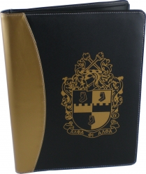 View Buying Options For The Alpha Phi Alpha Shield Padfolio