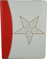 View Buying Options For The Eastern Star Symbol Padfolio