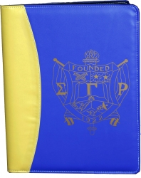 View Buying Options For The Sigma Gamma Rho Crest Padfolio
