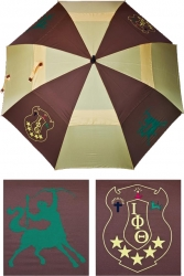 View Buying Options For The Iota Phi Theta Wind Resistant Auto Open Jumbo Umbrella