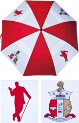 View Buying Options For The Kappa Alpha Psi Wind Resistant Auto Open Jumbo Umbrella