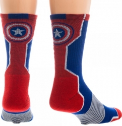 View Buying Options For The Captain America Active Performance Pair Crew Socks