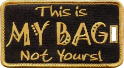 View Buying Options For The Alpha Phi Alpha Colors This Is My Bag Not Yours Luggage Tag
