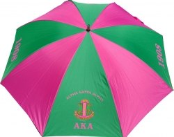 View Buying Options For The Alpha Kappa Alpha Large/Jumbo Umbrella