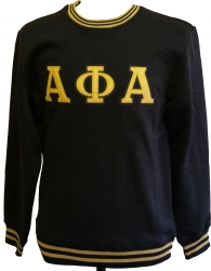 View Buying Options For The Alpha Phi Alpha Crew Neck Mens Sweatshirt
