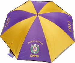 View Buying Options For The Buffalo Dallas Omega Psi Phi Large/Jumbo Umbrella