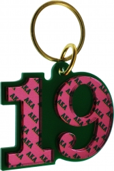 View Buying Options For The Alpha Kappa Alpha Color Mirror Line #19 Keychain