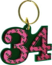 View Buying Options For The Alpha Kappa Alpha Color Mirror Line #34 Keychain