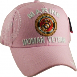 View Buying Options For The Marine Woman Veteran Shadow Ladies Cap