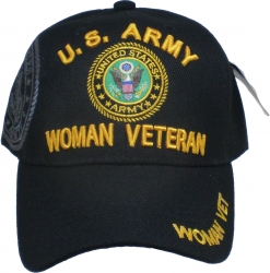 View Buying Options For The U.S. Army Woman Veteran Shadow Ladies Cap