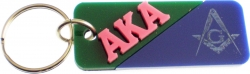 View Buying Options For The Alpha Kappa Alpha + Mason Mirror Split Keychain