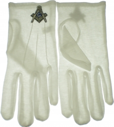 View Buying Options For The Mason Emblem Ritual Gloves