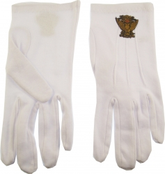 View Buying Options For The 33rd Degree Wings Up Emblem Ritual Gloves