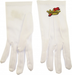View Buying Options For The Order of Cyrenes Cross & Crown Emblem Ritual Gloves