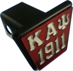 View Buying Options For The Kappa Alpha Psi 1911 Trailer Hitch Cover