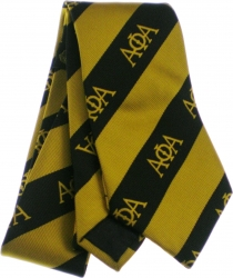 View Buying Options For The Alpha Phi Alpha Striped Mens Neck Tie