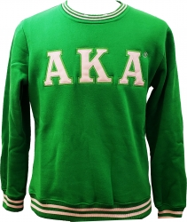 View Buying Options For The Buffalo Dallas Alpha Kappa Alpha Crew Neck Ladies Sweatshirt