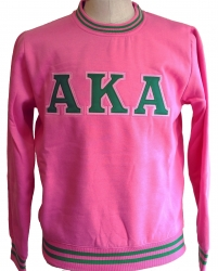 View Buying Options For The Alpha Kappa Alpha Crew Neck Ladies Sweatshirt