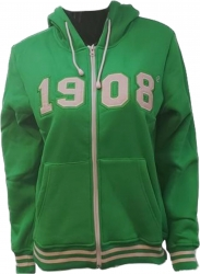View Buying Options For The Buffalo Dallas Alpha Kappa Alpha 1908 Applique Zip-Up Ladies Hoodie