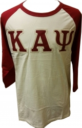 View Buying Options For The Kappa Alpha Psi Applique Mens Baseball Tee