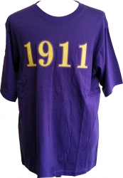 View Buying Options For The Omega Psi Phi 1911 Applique Mens Tee